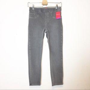 Spanx Slate Gray Cropped Jeanish Leggings